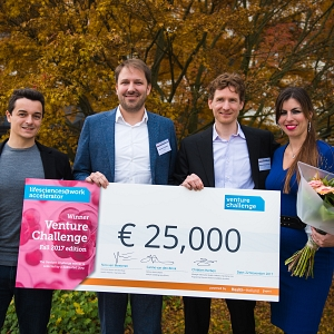 Cyclomics: Winner of the Venture Challenge Fall 2017 picture