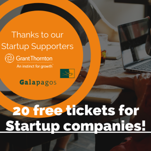 Extra free tickets available for Startup companies picture