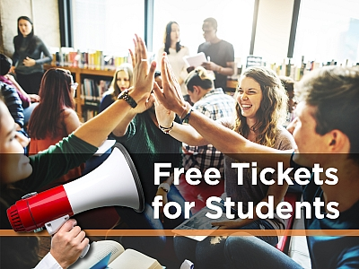 Free tickets for students