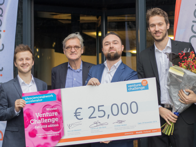 SeraNovo wins the 20th edition of the LS@W Venture Challenge
