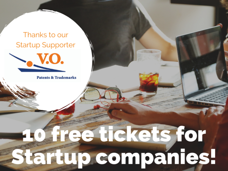 Free tickets available for Startups