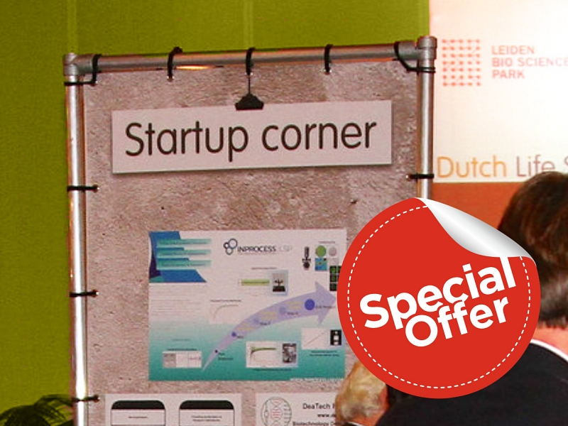 Special offer for startup companies
